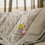 , TAGESDECKE SANDSTRAND - BEACH SAND quilt outdoor 5 90x90