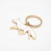 jewellery, schluesselanhaenger-en, KEY CHAIN WHITE FOX - MG 4488 100x100