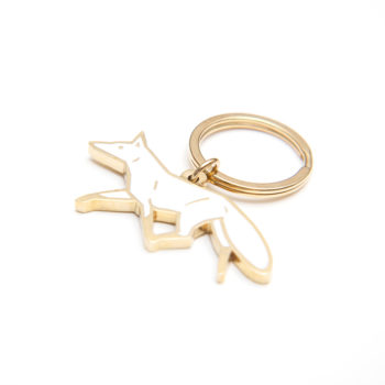 , KEY CHAIN WHITE FOX - MG 4490 350x350