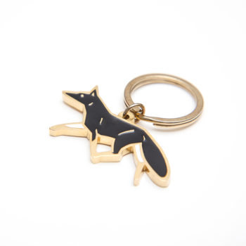 , KEY CHAIN BLACK FOX - MG 4497 350x350