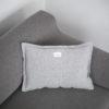 home-fabrics, pillows, interior-design, CUSHION WELL LIGHT GREY - QY1C1880 100x100