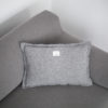 home-fabrics, pillows, interior-design, CUSHION WELL GREY - QY1C1882 100x100