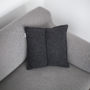 , CUSHION SIMPLE ANTHRACITE - QY1C1886 90x90