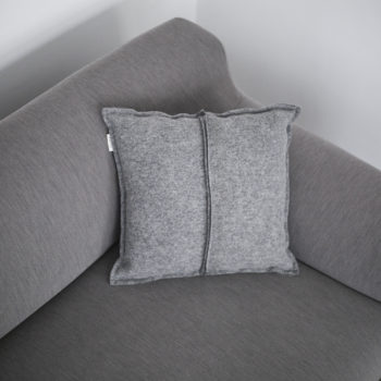 , CUSHION SIMPLE GREY - QY1C1887 350x350