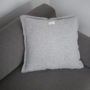 , CUSHION GREAT LIGHT GREY - QY1C1891 90x90