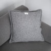 home-fabrics, pillows, interior-design, CUSHION GREAT GREY - QY1C1893 100x100