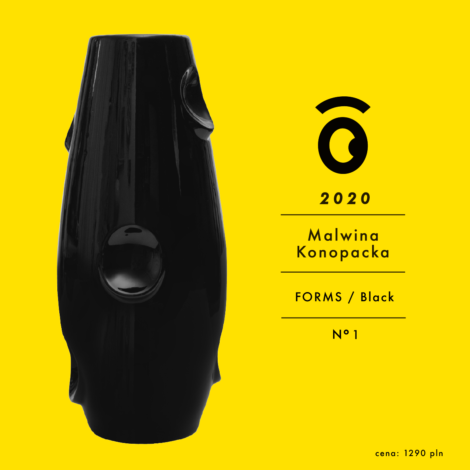 vasen, porzellan_und_keramik, wohnen, hochzeitsgeschenke, VASE OKO BLACK - OKO dostepne modele 9 2020 06 470x470