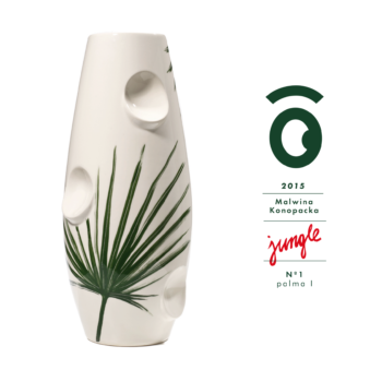 wedding-gifts, vases, porcelain_and_ceramics, interior-design, VASE OKO JUNGLE 1 - wazonyJUNGLE 01 350x350