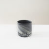 cups, porcelain_and_ceramics, home-accessories, interior-design, MUG MARBLED BLACK 250 - MUG 250 DARK MARBLE W01 100x100