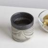 tassen, porzellan_und_keramik, wohnaccessoires, wohnen, blumentoepfe, BECHER MARBLED BLACK 500 - MUG 500 MARBLE DARK 100x100