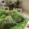 wohntextilien, wohnen, spannbettlacken, hochzeitsgeschenke, HAYKA ALPENWIESE SPANNBETTLAKEN - alpin meadow sheet00004 100x100
