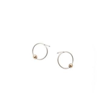 jewellery, earrings, EARRINGS POINT LINE - 1558 ab pl e3 350x350