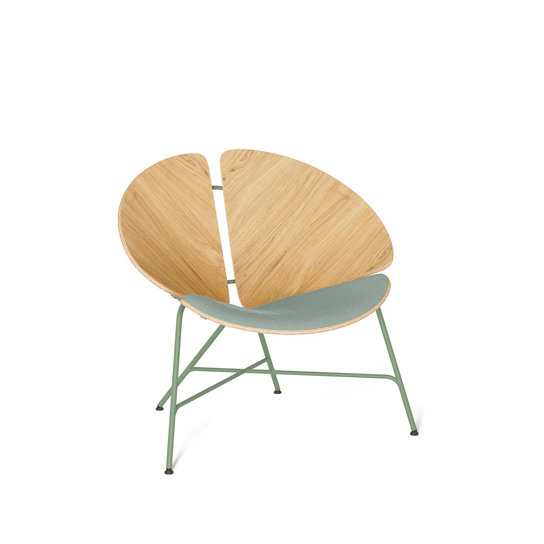 interior-design, furniture, armchairs, ARMCHAIR GINKA 1/3 - GINKA 1 3upholstered mintgreen 1