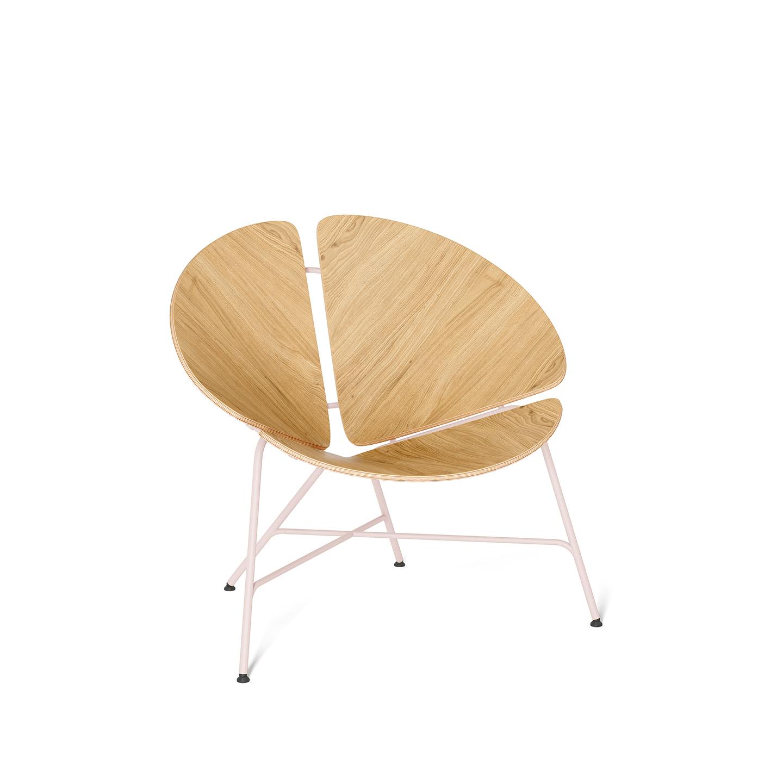 interior-design, furniture, armchairs, ARMCHAIR GINKA ALL VENEER - GINKA alloak palepink 1