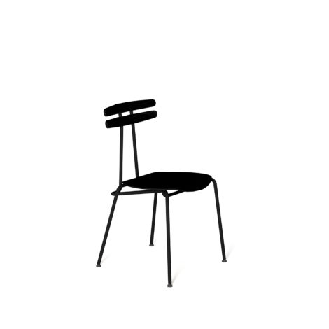 chairs, furniture, interior-design, TROJKA CHAIR ALL BLACK - MEDIUM - TROJKA medium allblack 1 470x470