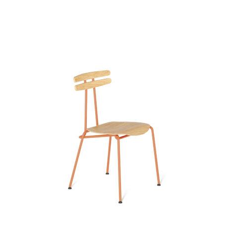 stuhle, mobel, wohnen, TROJKA STUHL - MEDIUM - TROJKA medium oak dustyclay 1 470x470