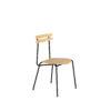 chairs, furniture, interior-design, TROJKA CHAIR - WIDE - TROJKA wide oak black 1 100x100