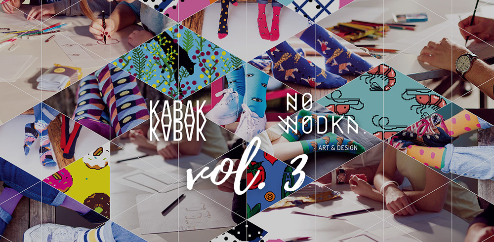 Design your own socks with KABAK – vol.3