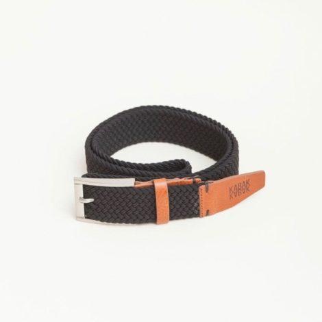 bekleidung, guertel, accessoires-bekleidung, GÜRTEL SCHWARZ - belt woven black kabak 470x470