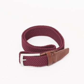 bekleidung-en, belts, clothes-accessories, BELT DARK RED - belt woven burgundy kabak 350x350