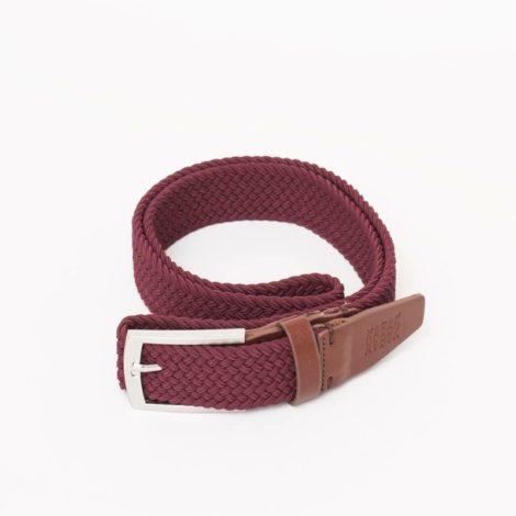 bekleidung, guertel, accessoires-bekleidung, GÜRTEL DUNKELROT - belt woven burgundy kabak 470x470