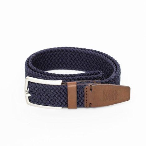 bekleidung, guertel, accessoires-bekleidung, GÜRTEL DUNKELBLAU - belt woven dark navy kabak 470x470