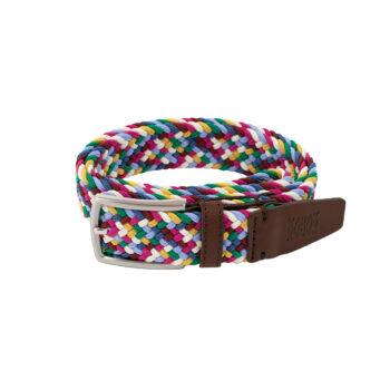 bekleidung-en, belts, clothes-accessories, BELT MULTICOLOR MIAMI VICE - belt woven multicolor A161 kabak 5906742649628 5906742649635 350x350