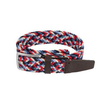 bekleidung-en, belts, clothes-accessories, BELT DARK RED - belt woven multicolor C69 kabak 5903678203825 5903678203832 350x350