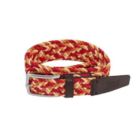 bekleidung, guertel, accessoires-bekleidung, GÜRTEL MULTICOLOR RED GINGER - belt woven multicolor C70 kabak 5903678203849 5903678203856 470x470