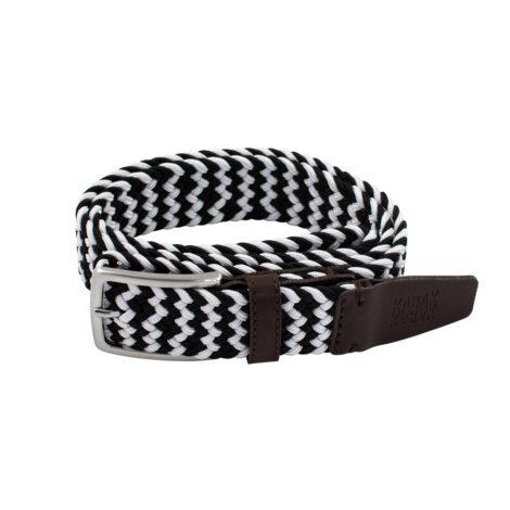 bekleidung-en, belts, clothes-accessories, BELT MULTICOLOR B&W - belt woven multicolor black white kabak 5906742643824 2021 470x470