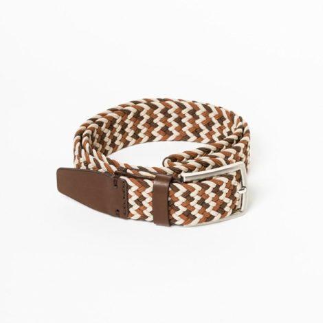 bekleidung-en, belts, clothes-accessories, BELT MULTICOLOR BROWN - belt woven multicolor light brown kabak 470x470