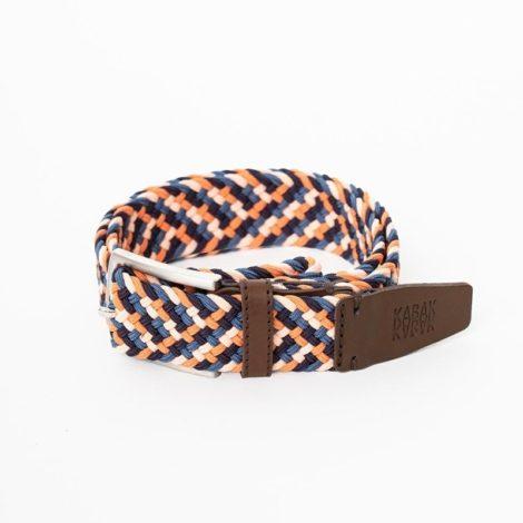 bekleidung, guertel, accessoires-bekleidung, GÜRTEL MULTICOLOR SALMON - belt woven multicolor salmon blue 470x470