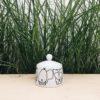 porzellan_und_keramik, wohnen, porzellan-andere, ZUCKERDOSE WALDTIERE - cukiernica zwierzeta lesne forrest 2 100x100