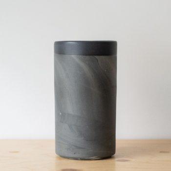 vases, porcelain_and_ceramics, interior-design, VASE MARBLED BLACK - QY1C7467 350x350