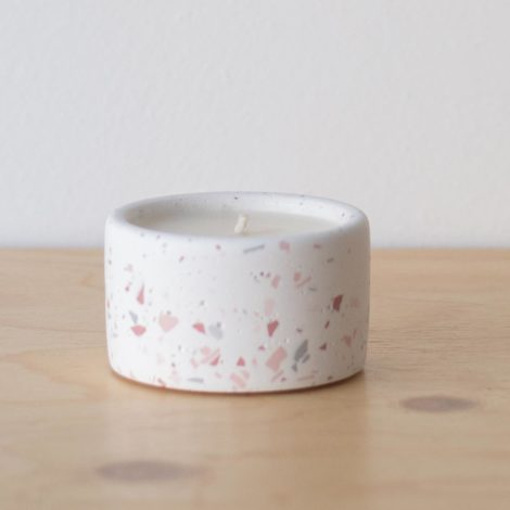 home-accessories, interior-design, candles, MINI SCENTED SOY CANDLE TERRAZZO - QY1C8396 470x470