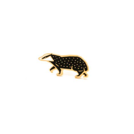schmuck, pins, PIN DACHS - borsuk1 470x470