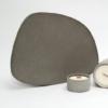 wohnaccessoires, wohnen, schalen-und-tabletts, ASYMMETRISCHES TABLETT DUNKELGRAU - dark grey tray 02 100x100