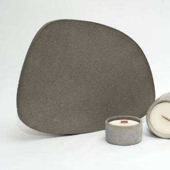 interior-design, home-accessories, holders-and-trays, ASYMMETRICAL TRAY DARK GREY - dark grey tray 02 350x350