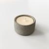 wohnaccessoires, wohnen, kerzen, MINI DUFTKERZE AUS SOJAWACHS GRAU - mini candle gray 01 100x100
