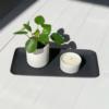 wohnaccessoires, wohnen, kerzen, MINI DUFTKERZE AUS SOJAWACHS WEIß - mini candle white 01 100x100