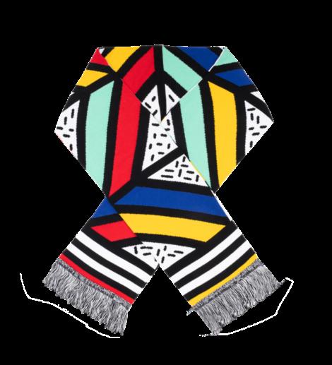 bekleidung, schals, accessoires-bekleidung, SCHAL POP ART - scarf cotton pop art kabak 470x517