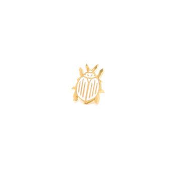 jewellery, pins-en, PIN HONEY BEE - stonka ziemniaczana1 350x350