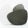 wohnaccessoires, wohnen, schalen-und-tabletts, ASYMMETRISCHES TABLETT DUNKELGRAU - tray mix 01 100x100
