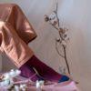 bekleidung, socken-aus-bio-baumwolle, accessoires-bekleidung, SOCKEN AUS BIOBAUMWOLLE BURGUNDERROT - 1 100x100
