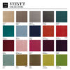 chairs, furniture, interior-design, CHAIR 200-190 MIX VELVET - 366 Concept VELVET Collection 1 100x100