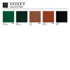 chairs, furniture, interior-design, CHAIR 200-190 MIX VELVET - 366 Concept VELVET Collection 2 100x100