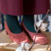 bekleidung-en, organic-socks, clothes-accessories, ORGANIC COTTON SOCKS BOTTLE GREEN WITH DOTS - DSCF7136 100x100