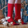 bekleidung-en, organic-socks, clothes-accessories, ORGANIC COTTON SOCKS RED - DSCF7273 100x100