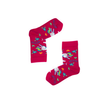 kindersocken, bekleidung, accessoires-bekleidung, KINDERSOCKEN EINHORN - Jednorozce dzieci 350x350