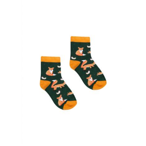 bekleidung-en, kids-socks, clothes-accessories, KIDS SOCKS GREEN FOX - Lisy Dzieci 470x470